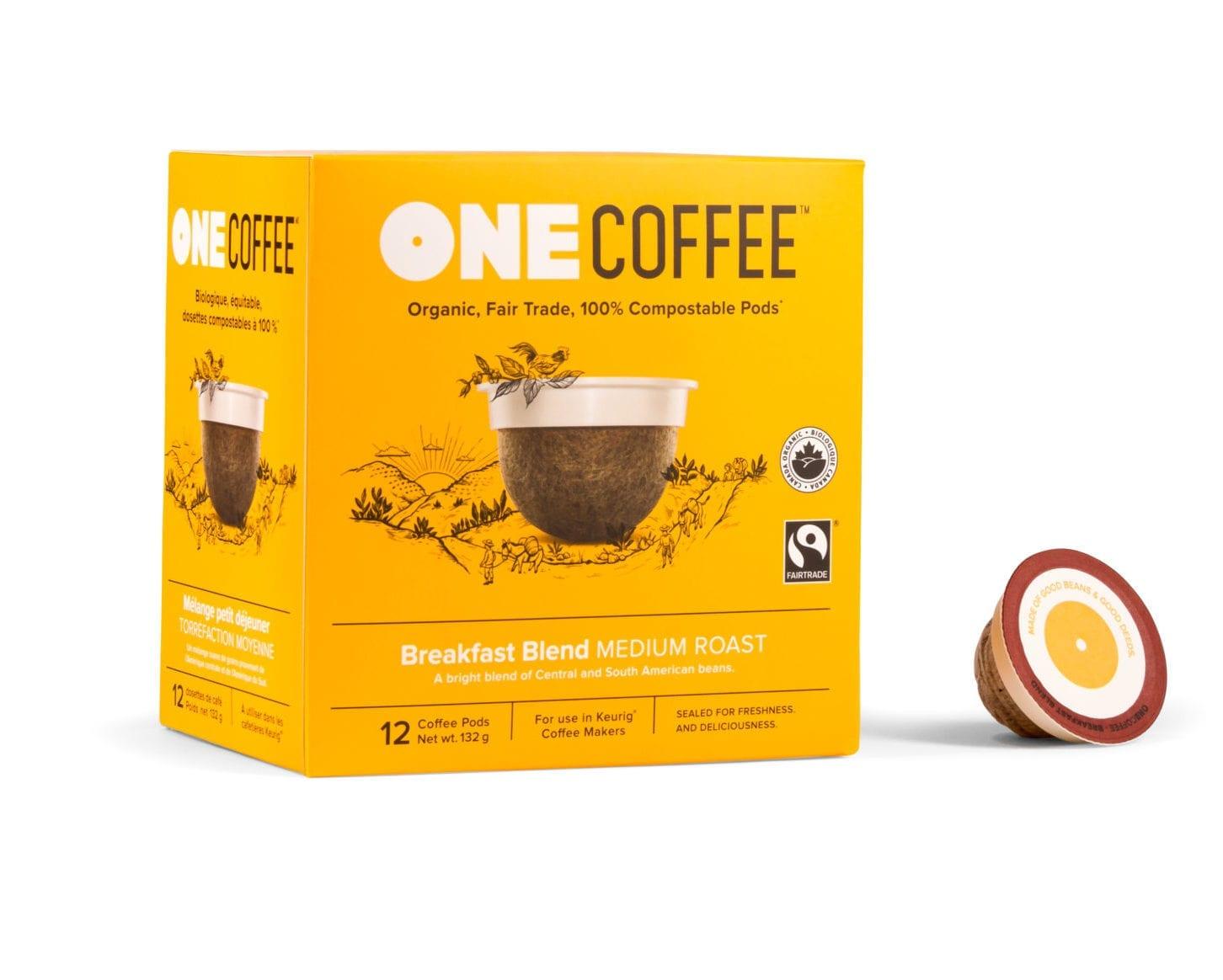 Box of OneCoffee Breakfast Blend