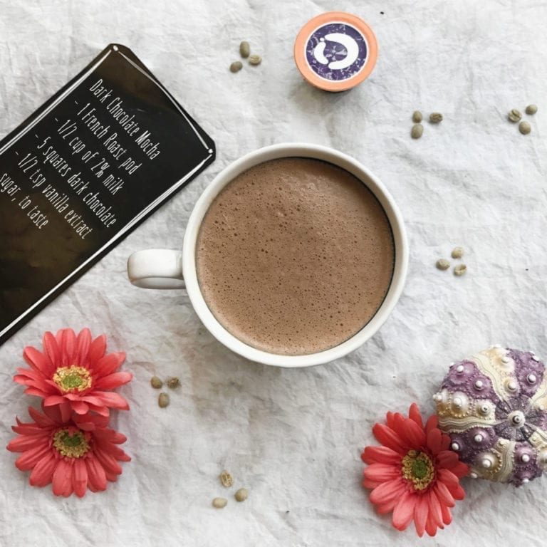 Dark Chocolate Mocha with OneCoffee