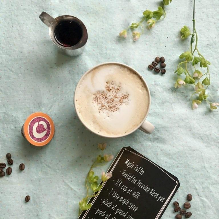 Maple Coffee Recipe Single Serve - OneCoffee