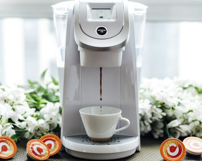 Keurig coffee brewing