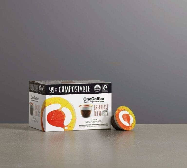 Box of Breakfast Blend OneCoffee - 99% Compostable